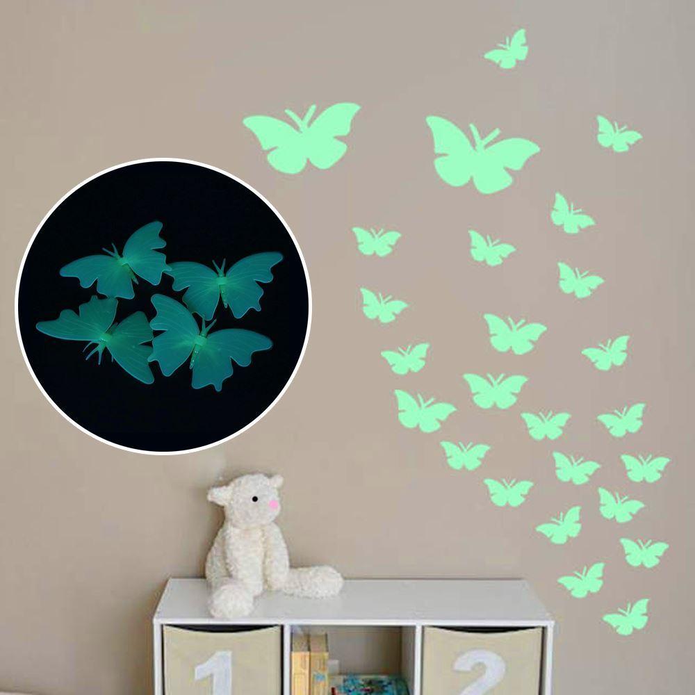 Svítící motýlci