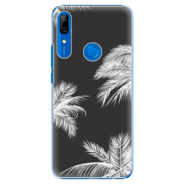 Plastové pouzdro iSaprio - White Palm - Huawei P Smart Z
