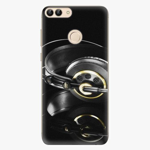 Silikonové pouzdro iSaprio - Headphones 02 - Huawei P Smart