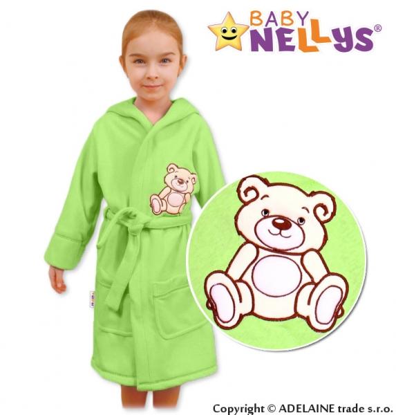 baby-nellys-detsky-zupan-medvidek-teddy-bear-98-104-zeleny-104-98-24-36m