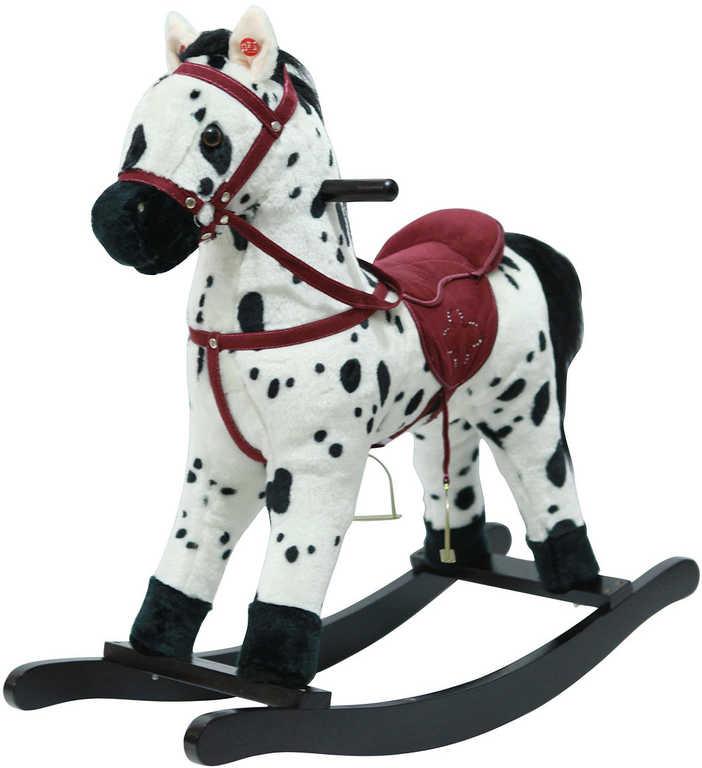 PLYŠ Kůň houpací na baterie řehtá hýbe ocáskem Zvuk *PLYŠOVÉ HRAČKY*