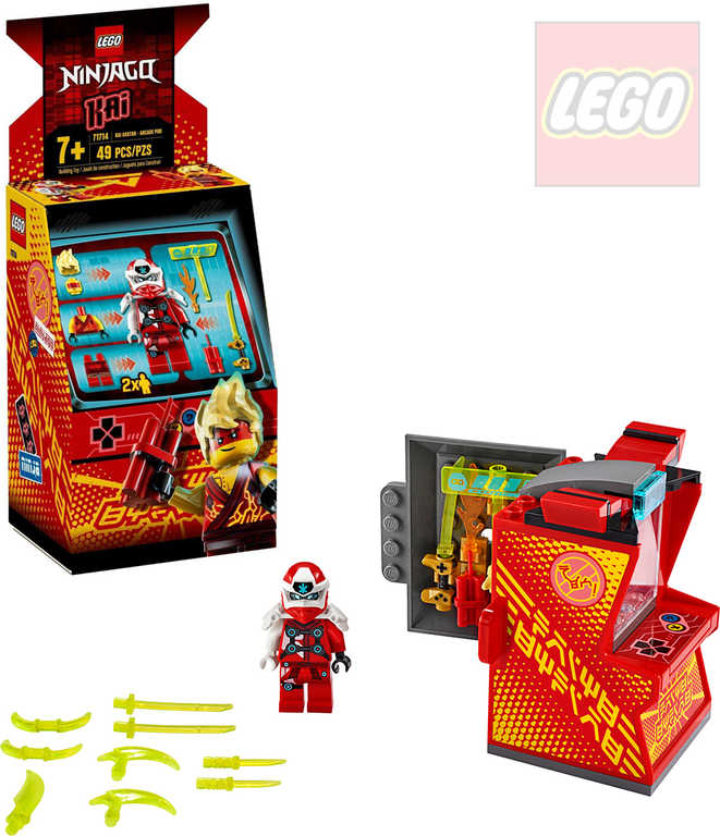 LEGO NINJAGO Kaiův avatar - arkádový automat 71714 STAVEBNICE