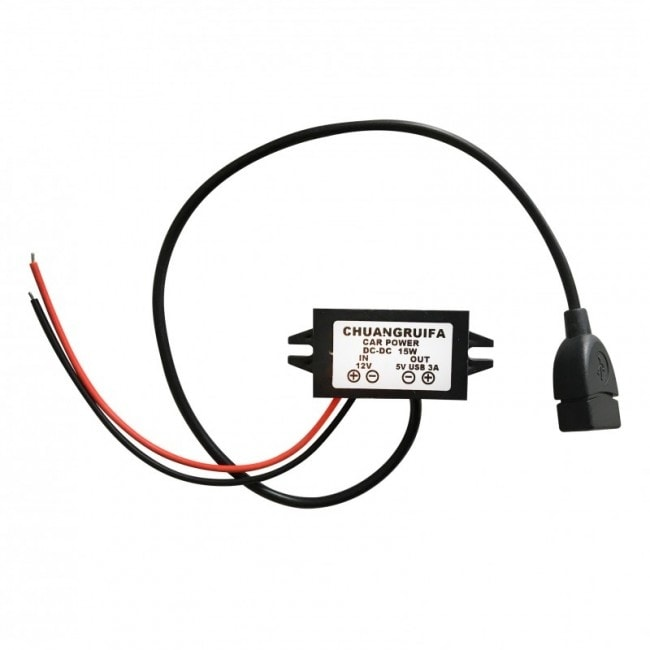 Tractive adaptér do auta 12V / 5V USB