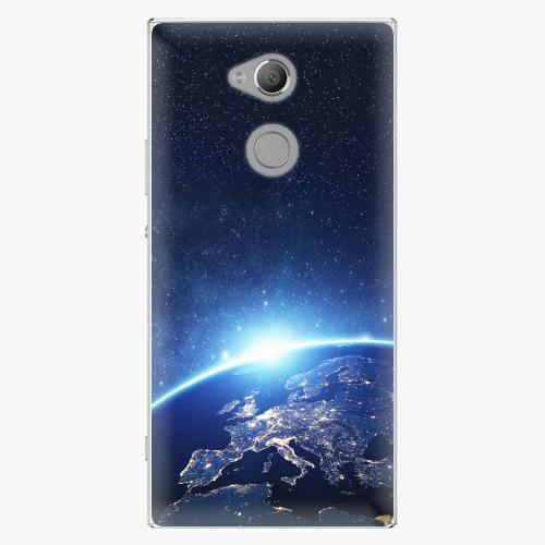 Plastový kryt iSaprio - Earth at Night - Sony Xperia XA2 Ultra