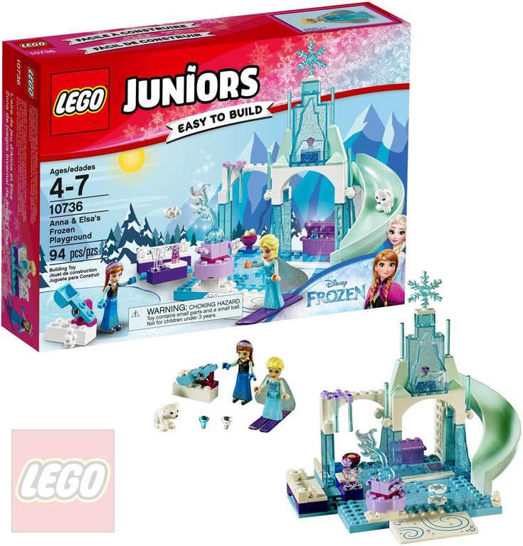 LEGO JUNIORS Ledové hřiště pro Annu a Elsu Frozen 10736 STAVEBNICE