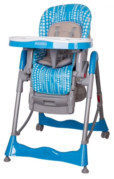 Jídelní židlička Coto Baby Mambo 2017 - Turquoise