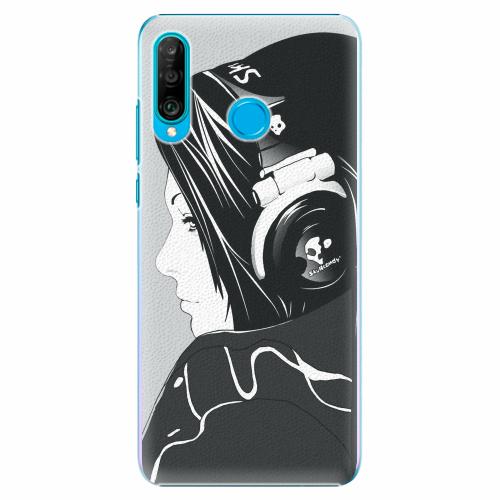 Plastový kryt iSaprio - Headphones - Huawei P30 Lite