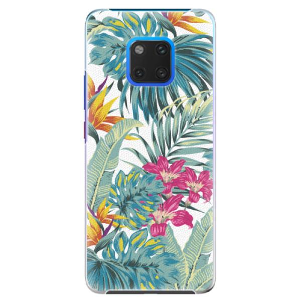 Plastové pouzdro iSaprio - Tropical White 03 - Huawei Mate 20 Pro