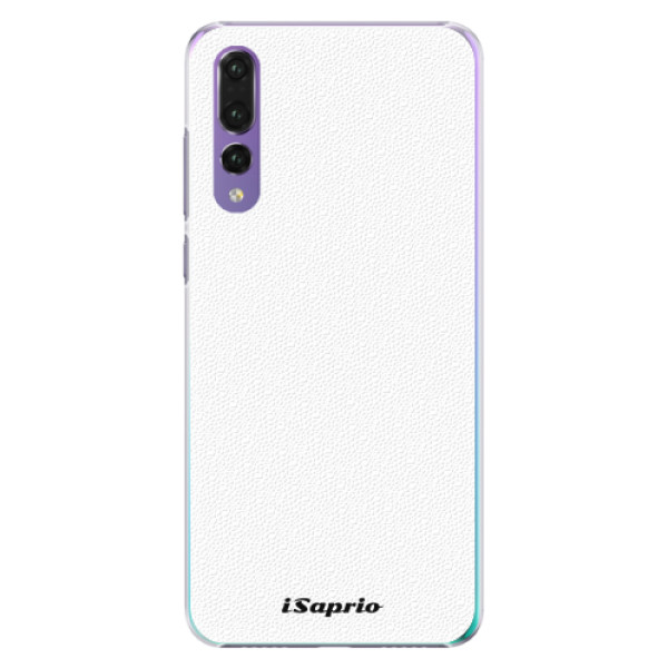 Plastové pouzdro iSaprio - 4Pure - bílý - Huawei P20 Pro