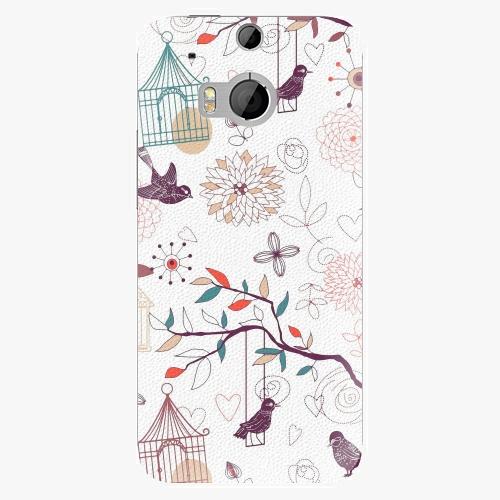 Plastový kryt iSaprio - Birds - HTC One M8