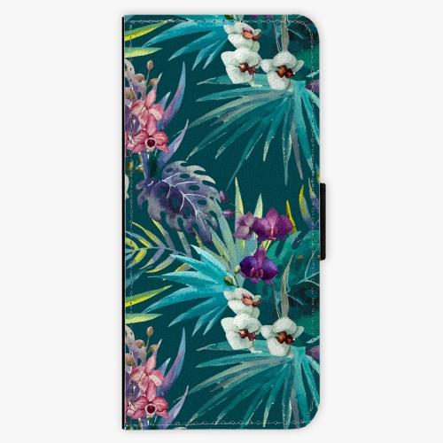 Flipové pouzdro iSaprio - Tropical Blue 01 - Samsung Galaxy J3