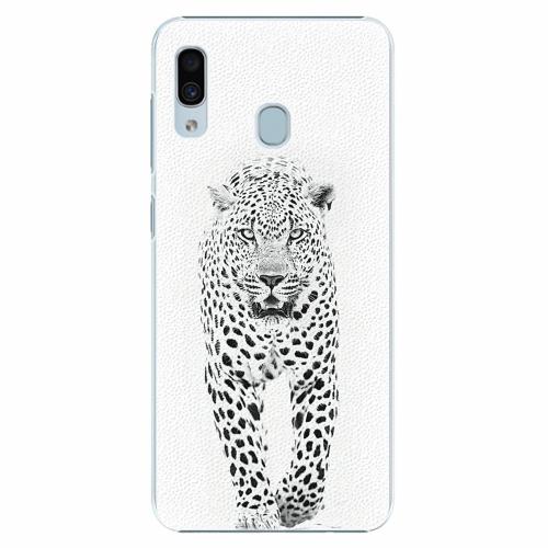 Plastový kryt iSaprio - White Jaguar - Samsung Galaxy A30