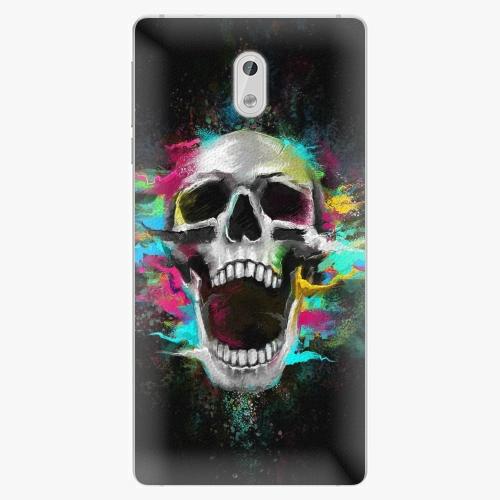 Plastový kryt iSaprio - Skull in Colors - Nokia 3