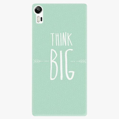 Plastový kryt iSaprio - Think Big - Lenovo Vibe Shot