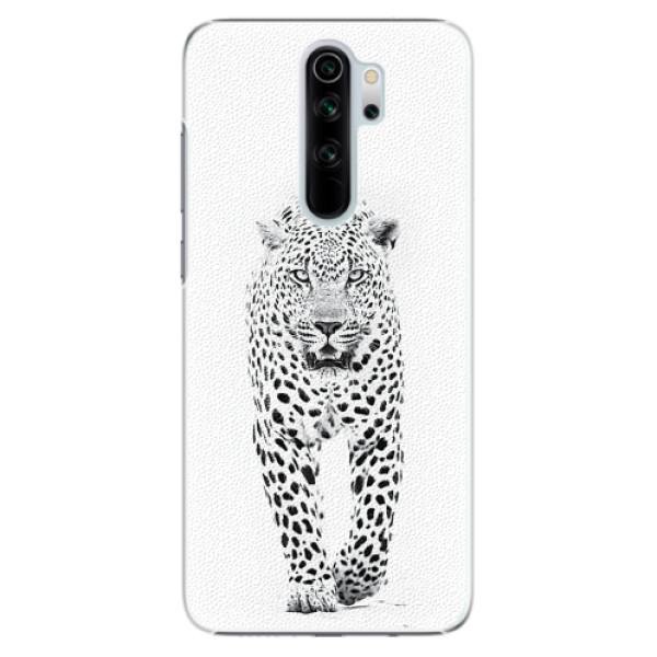 Plastové pouzdro iSaprio - White Jaguar - Xiaomi Redmi Note 8 Pro
