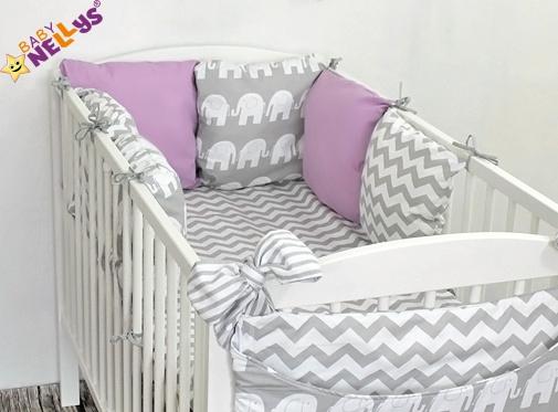 Baby Nellys Mantinel Be Love Lux polštářkový s povlečením vzor č. 17 - 120x90