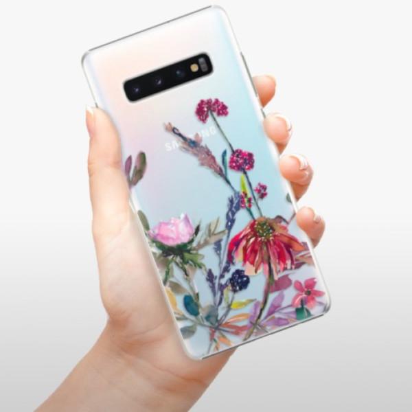 Plastové pouzdro iSaprio - Herbs 02 - Samsung Galaxy S10+