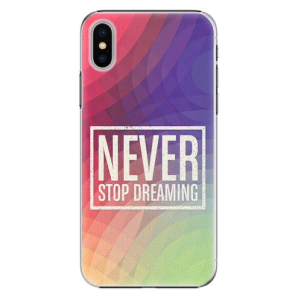 Plastové pouzdro iSaprio - Dreaming - iPhone X