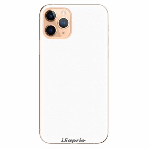Silikonové pouzdro iSaprio - 4Pure - bílý - iPhone 11 Pro