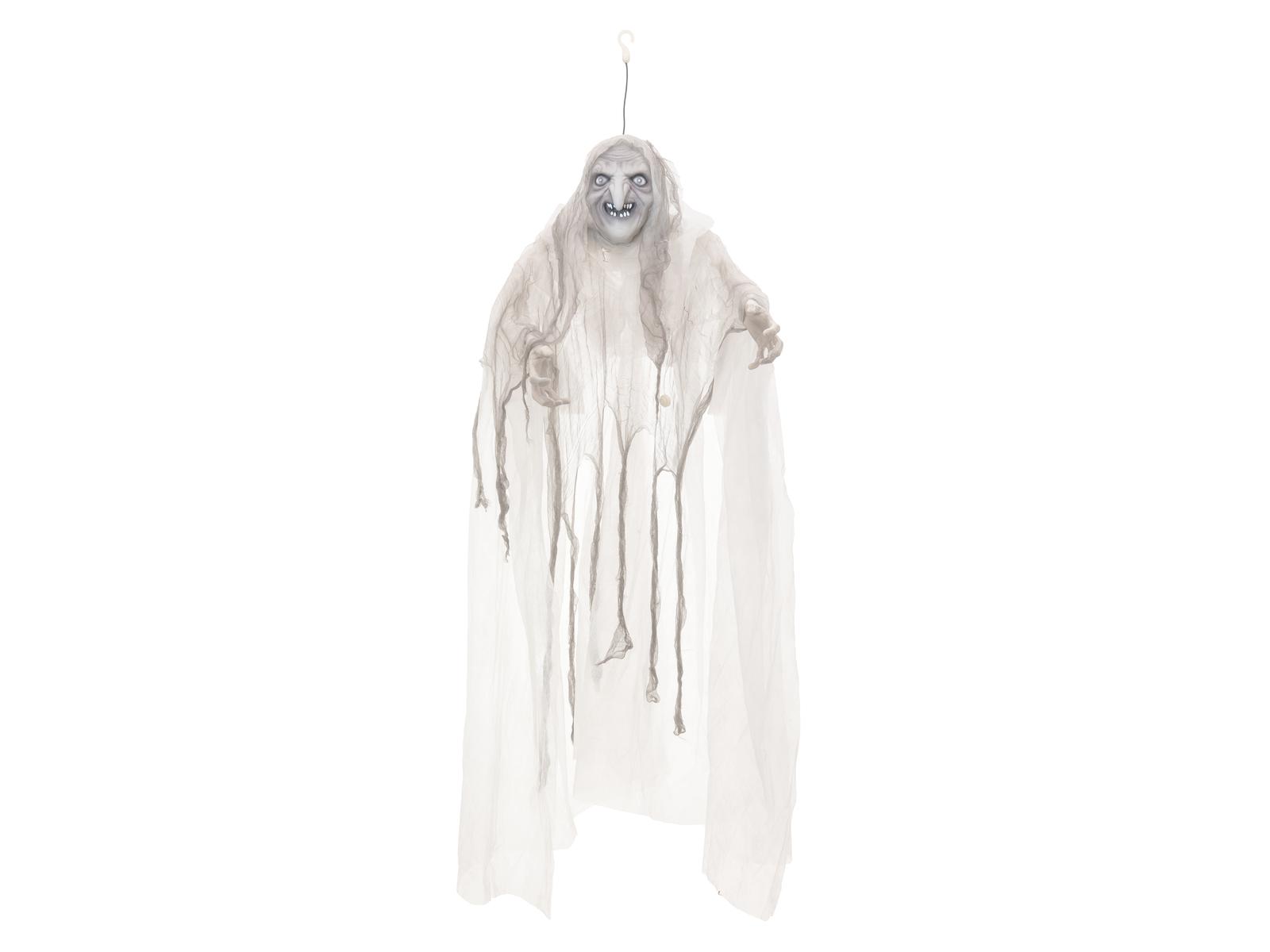 Halloween čarodějnice bílá, 170cm