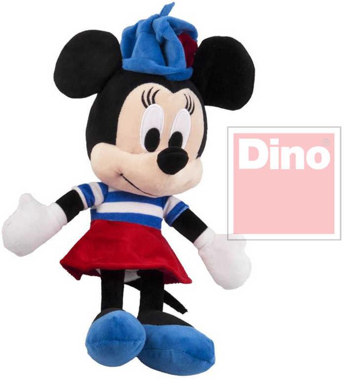 DINO Plyš Disney myška Minnie 25cm francouzské šatičky *PLYŠOVÉ HRAČKY*