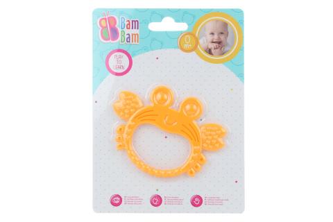 BAM BAM Chrastítko/kousátko krab