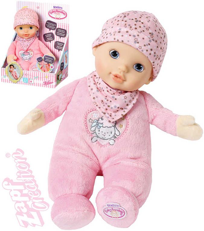 ZAPF CREATION Baby Annabell Newborn miminko s tlukotem srdce na baterie