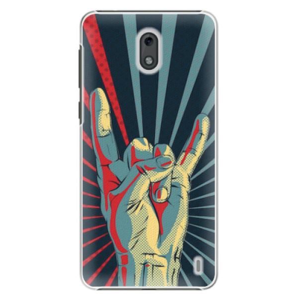 Plastové pouzdro iSaprio - Rock - Nokia 2