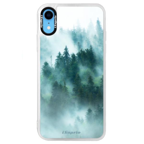 Neonové pouzdro Blue iSaprio - Forrest 08 - iPhone XR