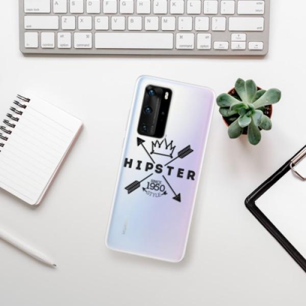 Odolné silikonové pouzdro iSaprio - Hipster Style 02 - Huawei P40 Pro