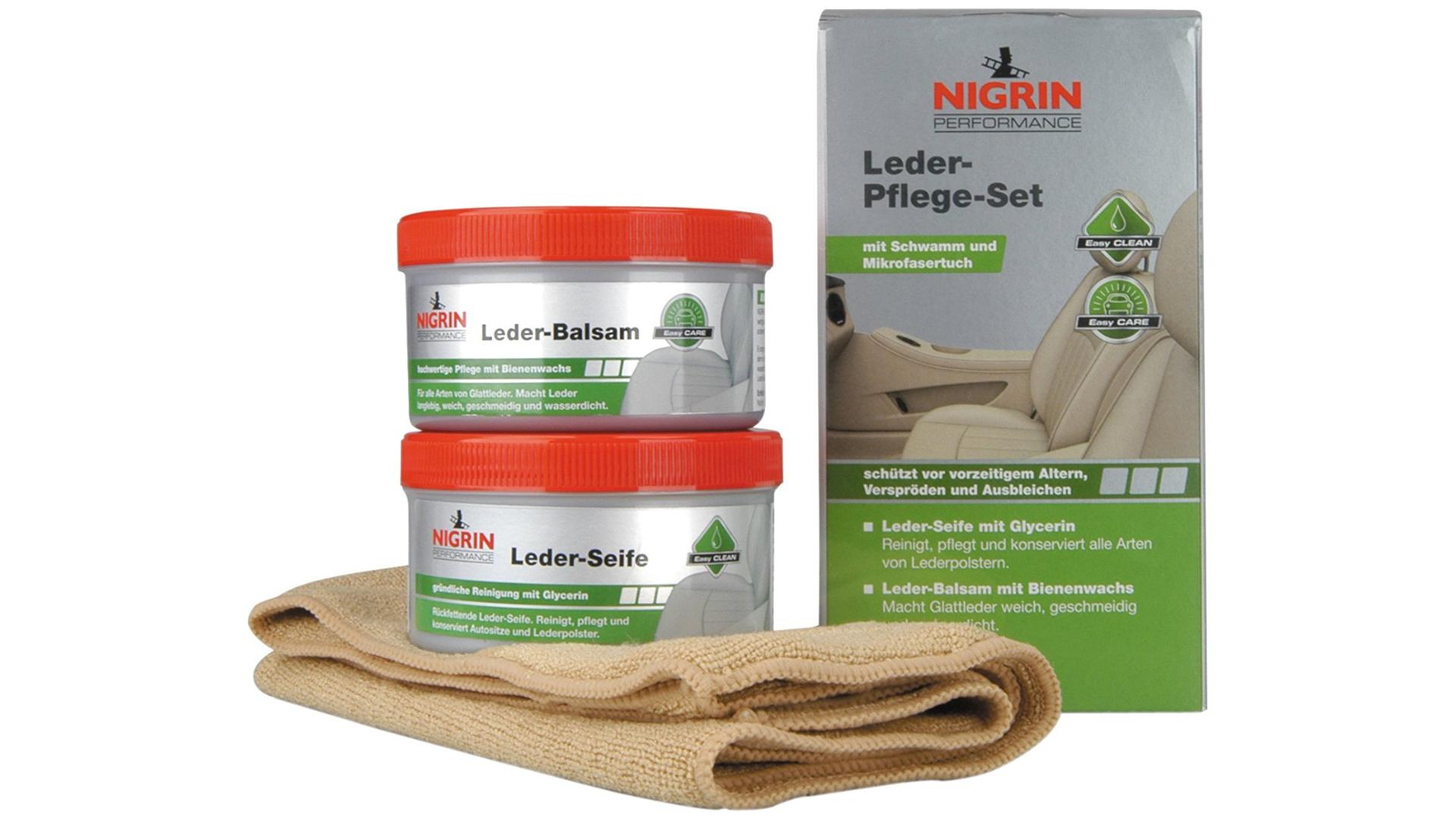 NIGRIN Soap preparation and leather balm