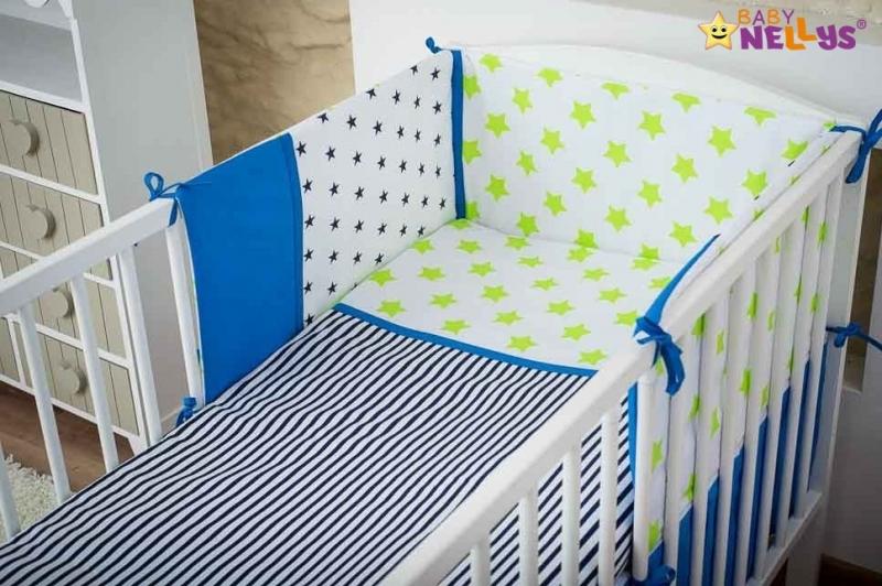 baby-nellys-mantinel-s-povlecenim-135x100cm-stars-be-love-c-2-135x100