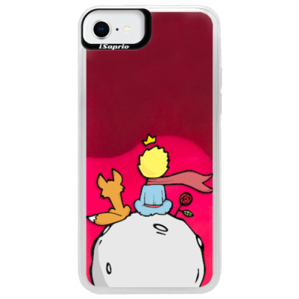 Neonové pouzdro Pink iSaprio - Prince - iPhone SE 2020