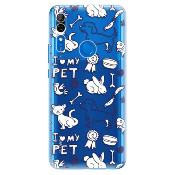 Odolné silikonové pouzdro iSaprio - Love my pets - Huawei P Smart Z