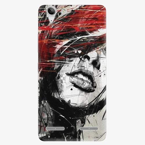 Plastový kryt iSaprio - Sketch Face - Lenovo Vibe K5