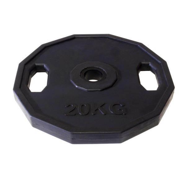 kotouc-olymp-neopren-20kg-12hran-dual-grip