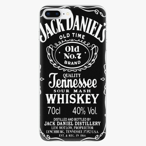 Silikonové pouzdro iSaprio - Jack Daniels - iPhone 8 Plus