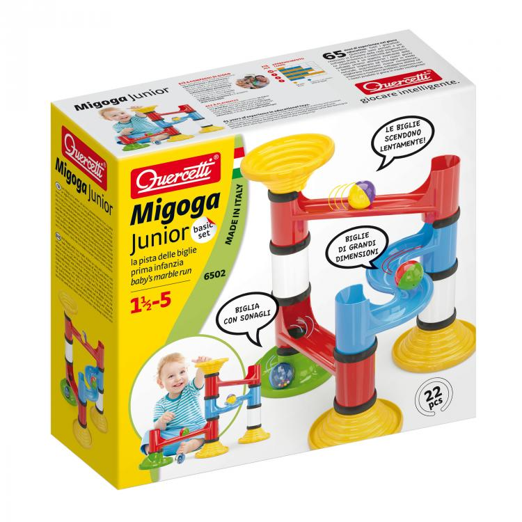 Quercetti Migoga Junior Basic 22 ks 6502