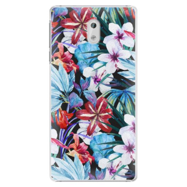 Plastové pouzdro iSaprio - Tropical Flowers 05 - Nokia 3