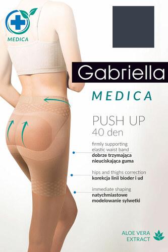 Punčochové kalhoty Medica Push-up 40Den 128 - Gabriella - Černá/2-S