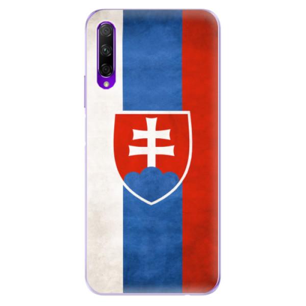 Odolné silikonové pouzdro iSaprio - Slovakia Flag - Honor 9X Pro