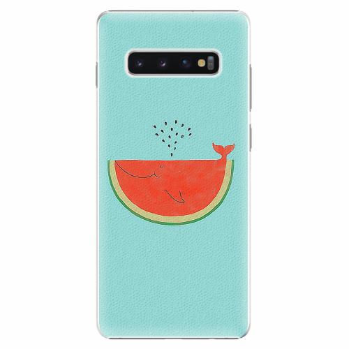 Plastový kryt iSaprio - Melon - Samsung Galaxy S10+