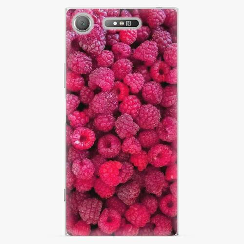 Plastový kryt iSaprio - Raspberry - Sony Xperia XZ1