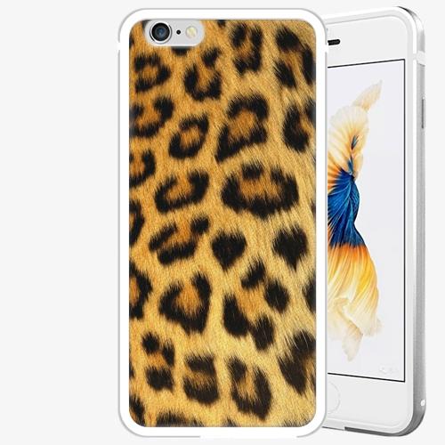 Plastový kryt iSaprio - Jaguar Skin - iPhone 6 Plus/6S Plus - Silver