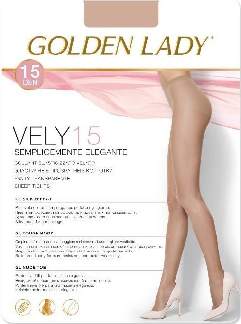 Punčochové kalhoty Vely 15 Den - Golden Lady - Castoro/4-L