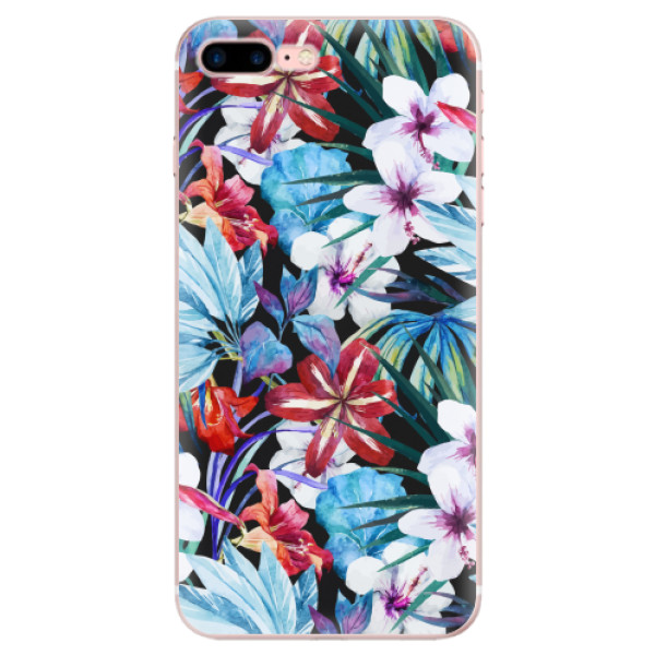 Odolné silikonové pouzdro iSaprio - Tropical Flowers 05 - iPhone 7 Plus