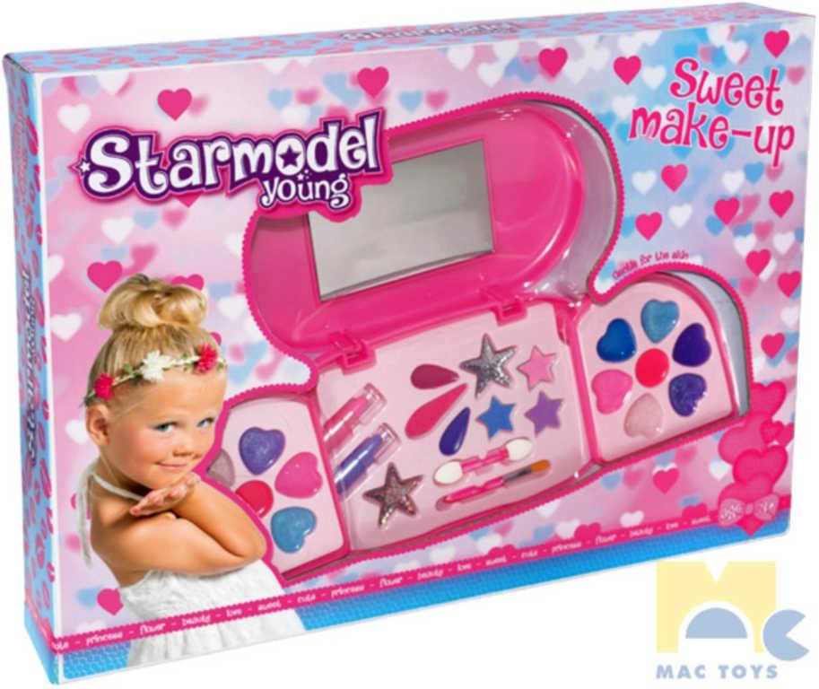 MAC TOYS Starmodel Young velká dětská sada krásy make-up pro děti