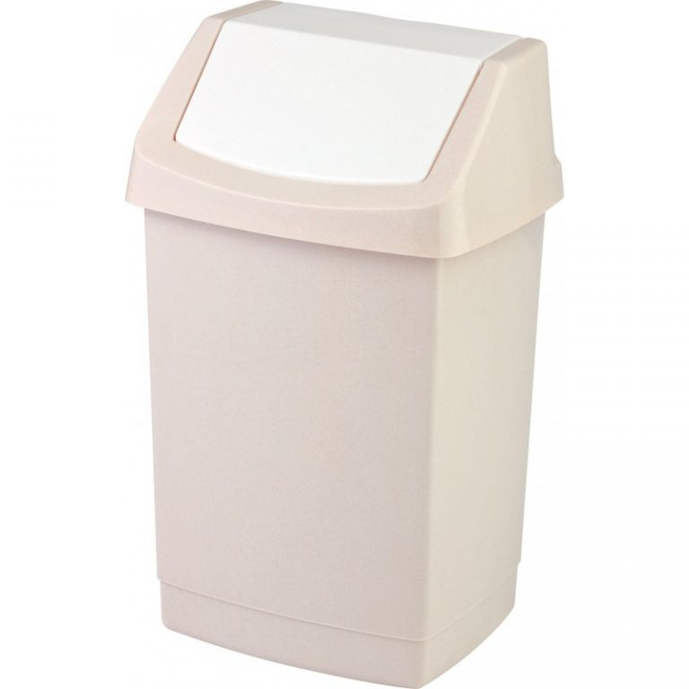 Koš odpadkový 15l CLICK - savana CURVER