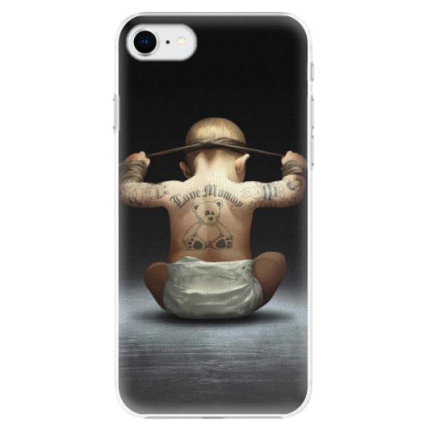 Plastové pouzdro iSaprio - Crazy Baby - iPhone SE 2020