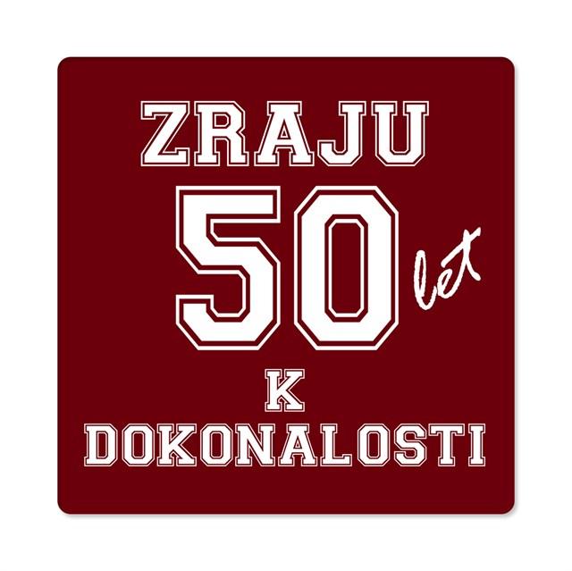 - Pánské humorné tričko - 50 let, vel. L